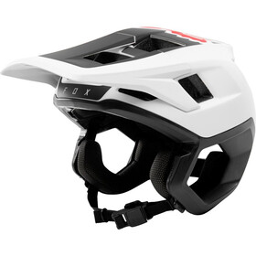 Fox Dropframe Helmet white/black